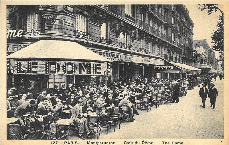 Cafe du Dome in Paris