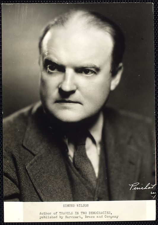 Writer and Critic Edmund Wilson