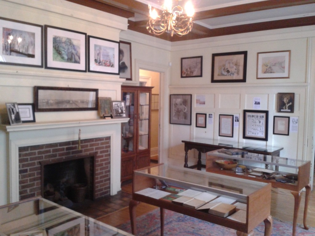 Main room in the Fitzgerald Museum