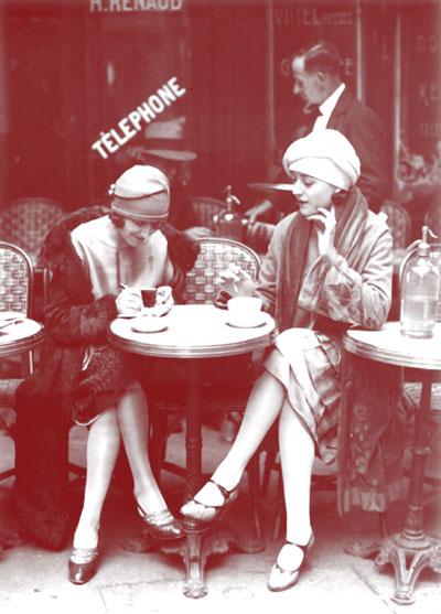 Solita Solano and Djuna Barnes in Paris
