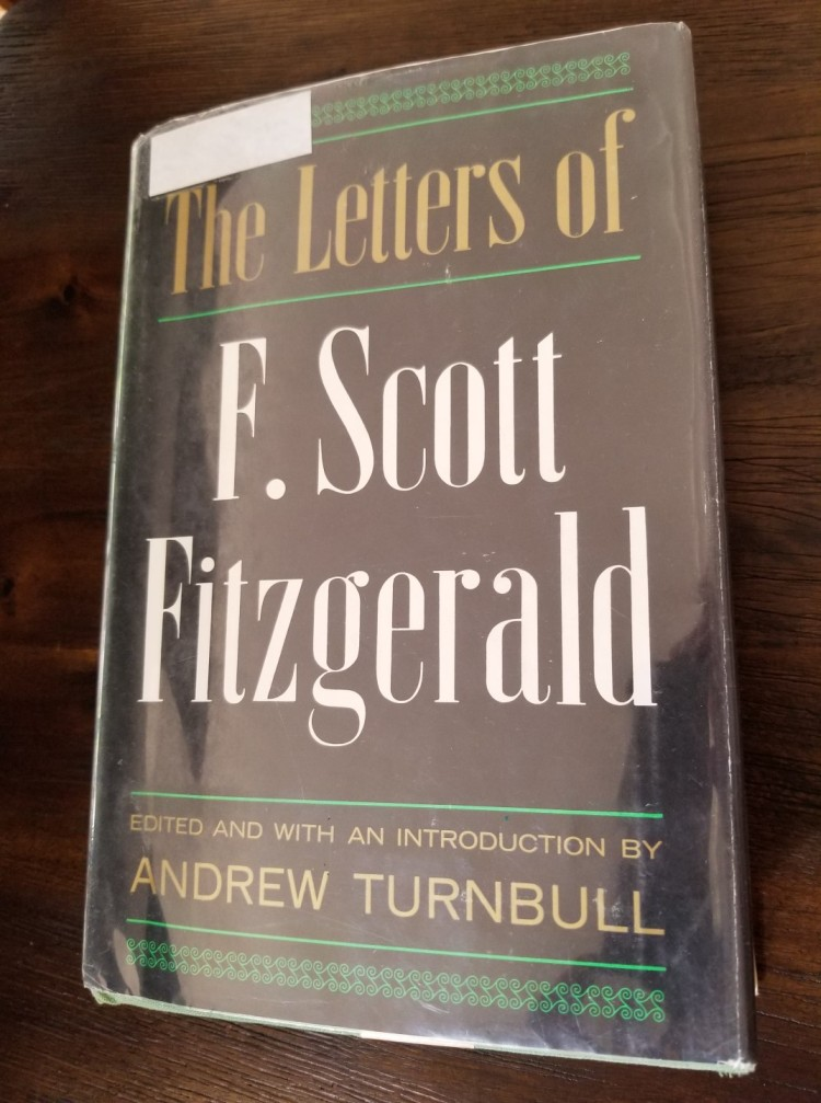 Front cover of The Letters of F. Scott Fitzgerald (1963)