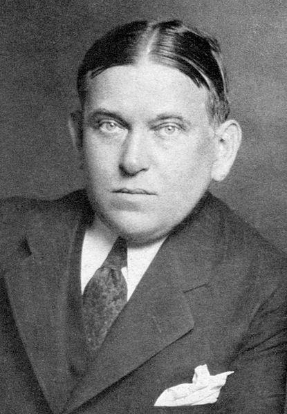 H. L. Mencken in 1928