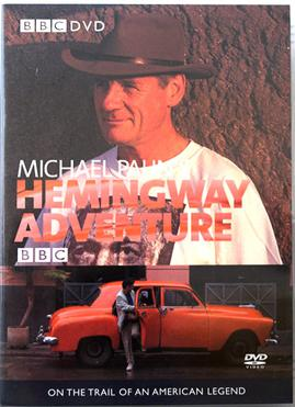 DVD cover of Michael Palin's Hemingway Adventure