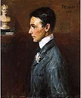 Painting of Van Wyck Brooks